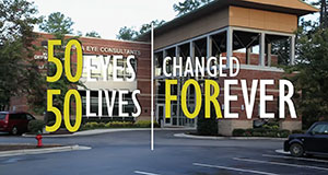 50 Eyes and 50 Lives Changed forever