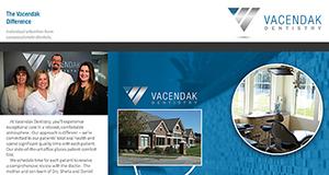 Vacendak Brochure Website
