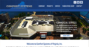 Comfort Systems Site