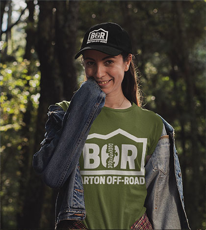 Barton Off-Road Teashirt And Cap