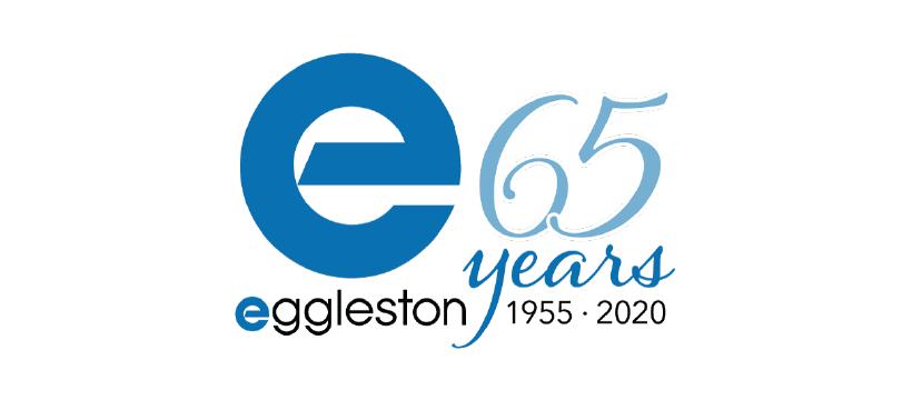 Eggleston's 65 Years Anniversary Logo
